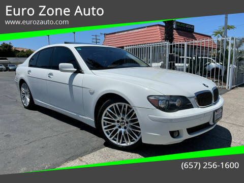2007 BMW 7 Series for sale at Euro Zone Auto in Stanton CA