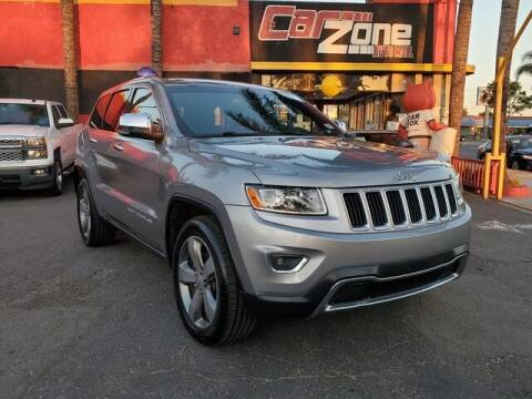 2014 Jeep Grand Cherokee for sale at Carzone Automall in South Gate CA