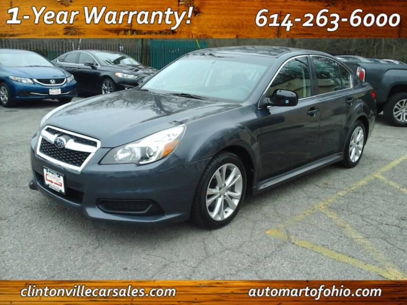 2014 Subaru Legacy for sale at Clintonville Car Sales - AutoMart of Ohio in Columbus OH