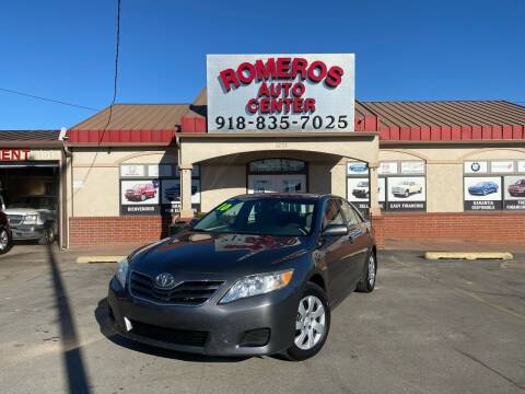 2010 Toyota Camry for sale at Romeros Auto Center in Tulsa OK