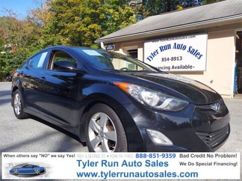 2012 Hyundai Elantra for sale at Tyler Run Auto Sales in York PA