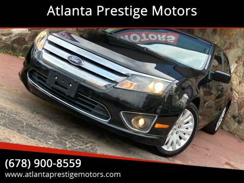 2010 Ford Fusion Hybrid for sale at Atlanta Prestige Motors in Decatur GA