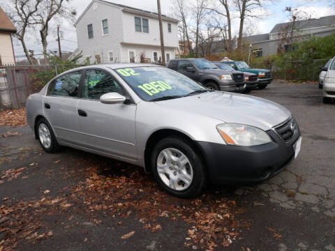 2002 Nissan Altima for sale at M & R Auto Sales INC. in North Plainfield NJ