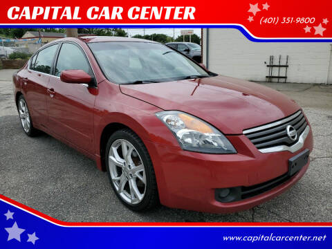 2009 Nissan Altima for sale at CAPITAL CAR CENTER in Providence RI