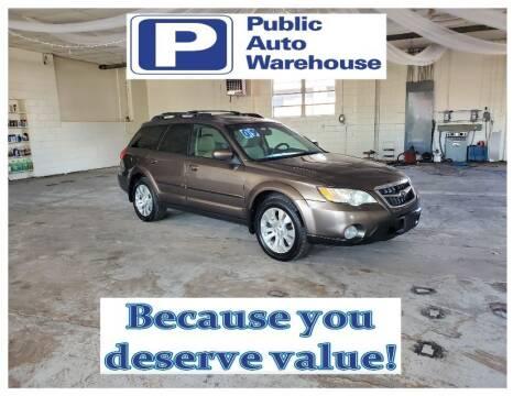2009 Subaru Outback for sale at Public Auto Warehouse in Pekin IL