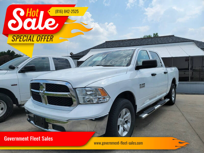 2019 RAM Ram Pickup 1500 Classic for sale at Government Fleet Sales in Kansas City MO