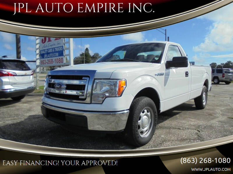 2014 Ford F-150 for sale at JPL AUTO EMPIRE INC. in Auburndale FL