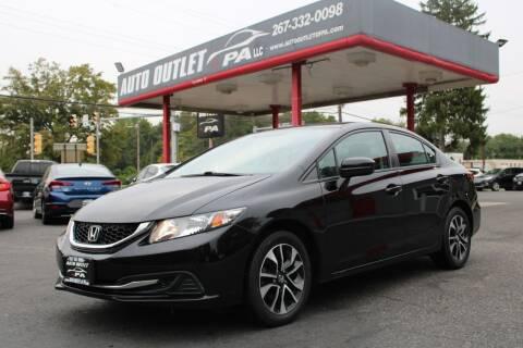 2015 Honda Civic for sale at Deals N Wheels 306 in Burlington NJ