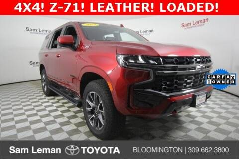 2021 Chevrolet Tahoe for sale at Sam Leman Toyota Bloomington in Bloomington IL