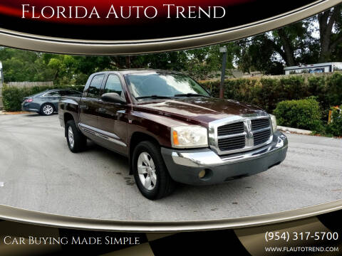 2005 Dodge Dakota for sale at Florida Auto Trend in Plantation FL