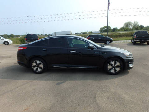 2013 Kia Optima Hybrid for sale at BLACKWELL MOTORS INC in Farmington MO