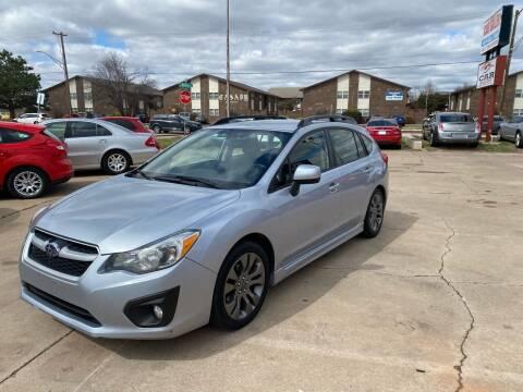 2014 Subaru Impreza for sale at Car Gallery in Oklahoma City OK