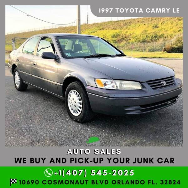 1997 Toyota Camry for sale at Orlando Auto Sales Recycling in Orlando FL