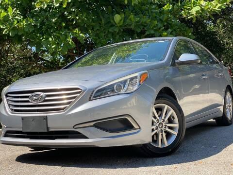 2016 Hyundai Sonata for sale at HIGH PERFORMANCE MOTORS in Hollywood FL