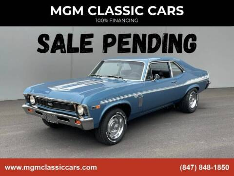 1969 Chevrolet Nova for sale at MGM CLASSIC CARS in Addison, IL