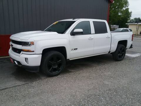2018 Chevrolet Silverado 1500 for sale at MIKE'S CYCLE & AUTO in Connersville IN