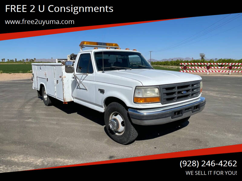 1995 Ford F-350 for sale at FREE 2 U Consignments in Yuma AZ