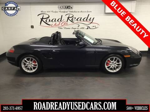 2004 Porsche Boxster for sale at Road Ready Used Cars in Ansonia CT