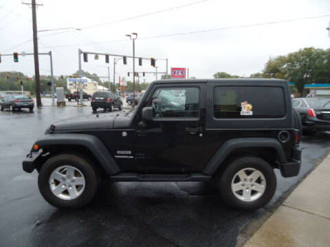 2013 Jeep Wrangler for sale at Tom Cater Auto Sales in Toledo OH