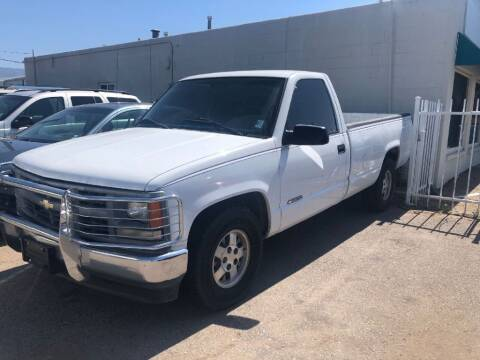 1996 Chevrolet C/K 1500 Series for sale at Top Gun Auto Sales, LLC in Albuquerque NM
