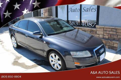 2005 Audi A6 for sale at A&A Auto Sales in Orem UT