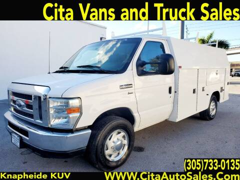 2012 FORD ECONOLINE  E350 KUV UTILITY TRUCK E-350 CUTAWAY for sale at Cita Auto Sales in Medley FL