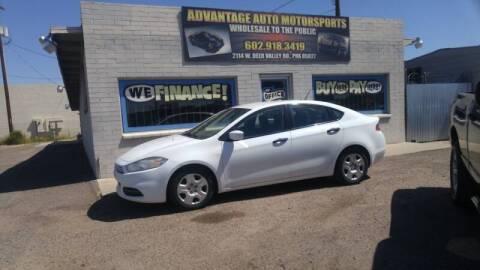 2013 Dodge Dart for sale at Advantage Motorsports Plus in Phoenix AZ