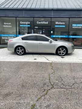 2009 Acura TL for sale at Georgia Certified Motors in Stockbridge GA