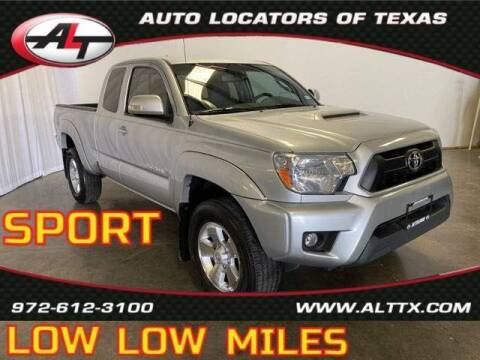 2012 Toyota Tacoma for sale at AUTO LOCATORS OF TEXAS in Plano TX
