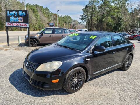 2012 Suzuki Kizashi for sale at Let's Go Auto in Florence SC