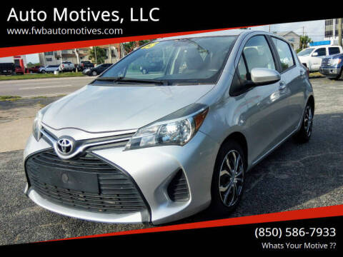 2015 Toyota Yaris for sale at Auto Motives, LLC in Fort Walton Beach FL
