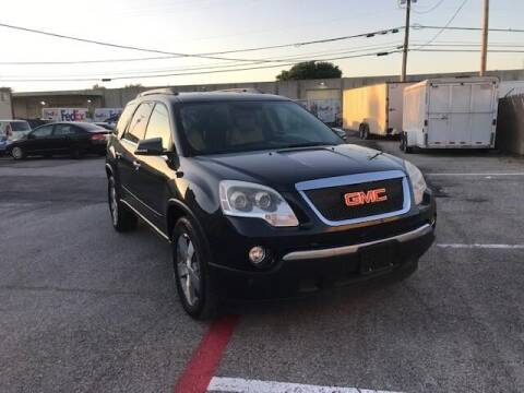 2011 GMC Acadia for sale at Reliable Auto Sales in Plano TX