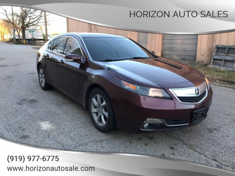 2013 Acura TL for sale at Horizon Auto Sales in Raleigh NC