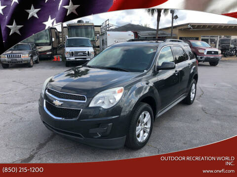 2013 Chevrolet Equinox for sale at Outdoor Recreation World Inc. in Panama City FL