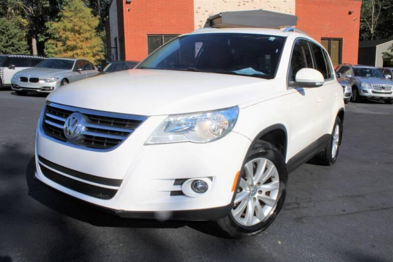 2009 Volkswagen Tiguan for sale at Atlanta Unique Auto Sales in Norcross GA