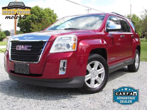 2014 GMC Terrain for sale at High-Thom Motors in Thomasville NC
