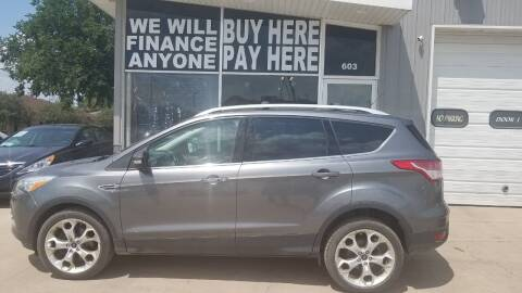 2013 Ford Escape for sale at STERLING MOTORS in Watertown SD