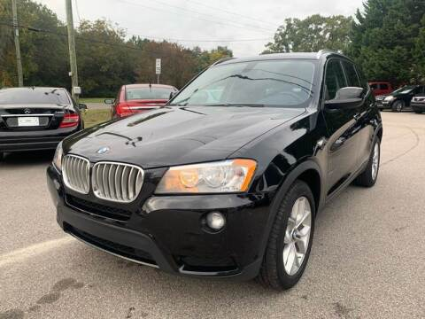 2013 BMW X3 for sale at SAR Enterprises in Raleigh NC
