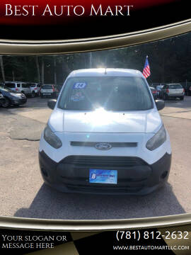 2014 Ford Transit Connect Cargo for sale at Best Auto Mart in Weymouth MA