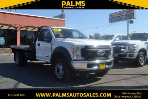 2017 Ford F-550 Super Duty for sale at Palms Auto Sales in Citrus Heights CA