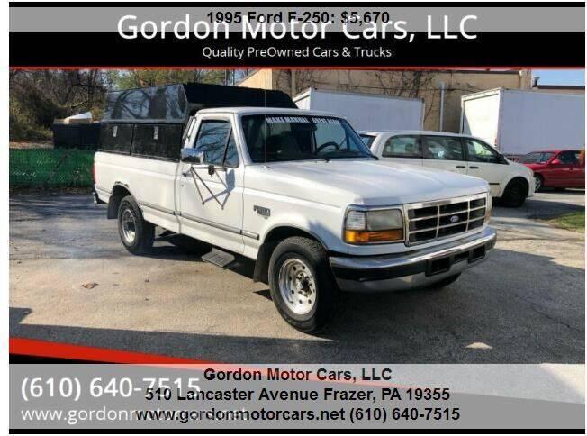 1995 Ford F-250 for sale at Gordon Motor Cars, LLC in Frazer PA