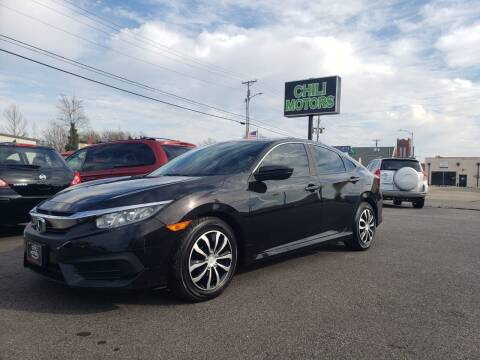 2016 Honda Civic for sale at CHILI MOTORS in Mayfield KY