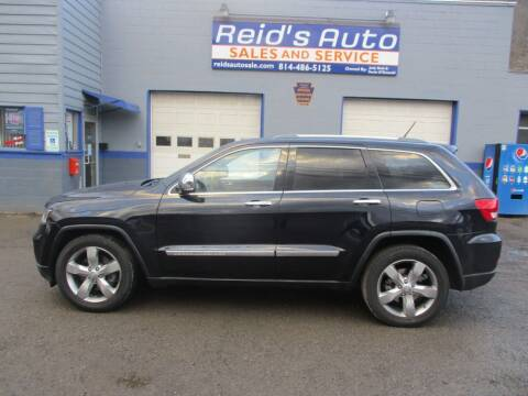 2011 Jeep Grand Cherokee for sale at Reid's Auto Sales & Service in Emporium PA