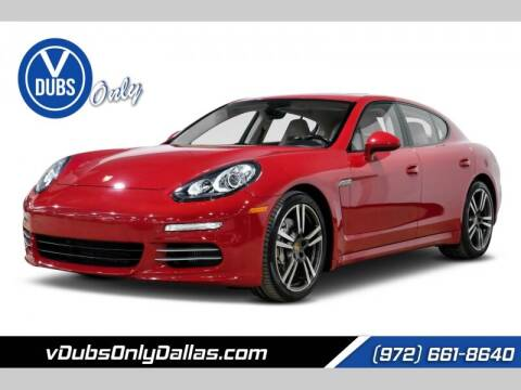 2014 Porsche Panamera for sale at VDUBS ONLY in Dallas TX