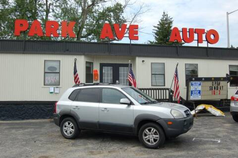 2007 Hyundai Tucson for sale at Park Ave Auto Inc. in Worcester MA