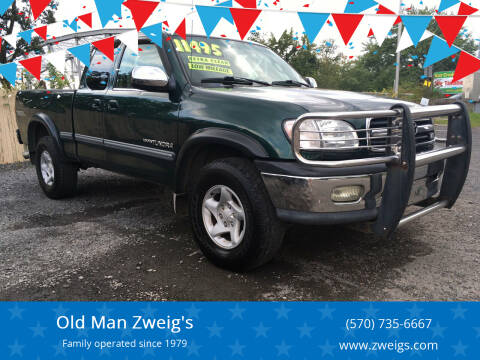 2002 Toyota Tundra for sale at Old Man Zweig's in Plymouth PA