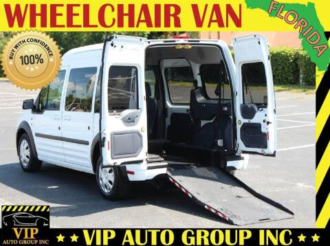 2013 Ford Transit Connect for sale at VIP Auto Group in Clearwater FL
