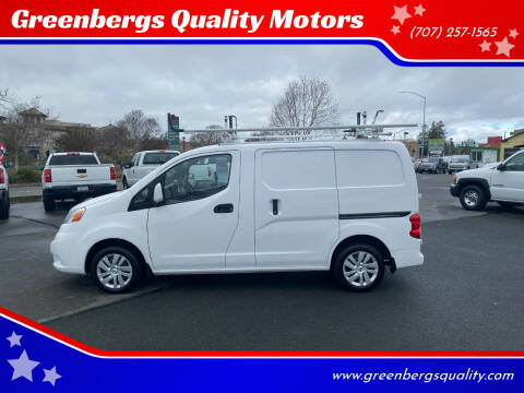 2017 Nissan NV200 for sale at Greenbergs Quality Motors in Napa CA