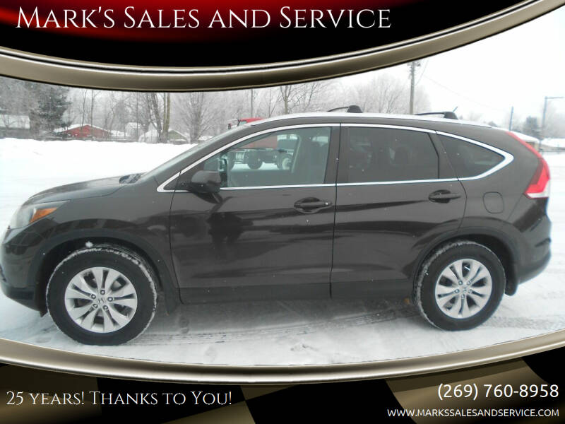 2013 Honda CR-V for sale at Mark's Sales and Service in Schoolcraft MI