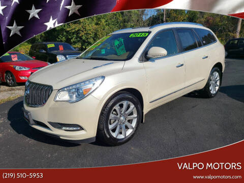2015 Buick Enclave for sale at Valpo Motors in Valparaiso IN